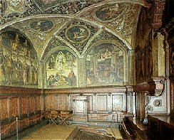 Sala dell'Udienza [Council room]