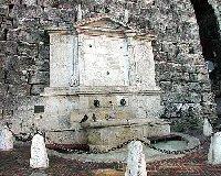 Fountain - Etruscan Arch